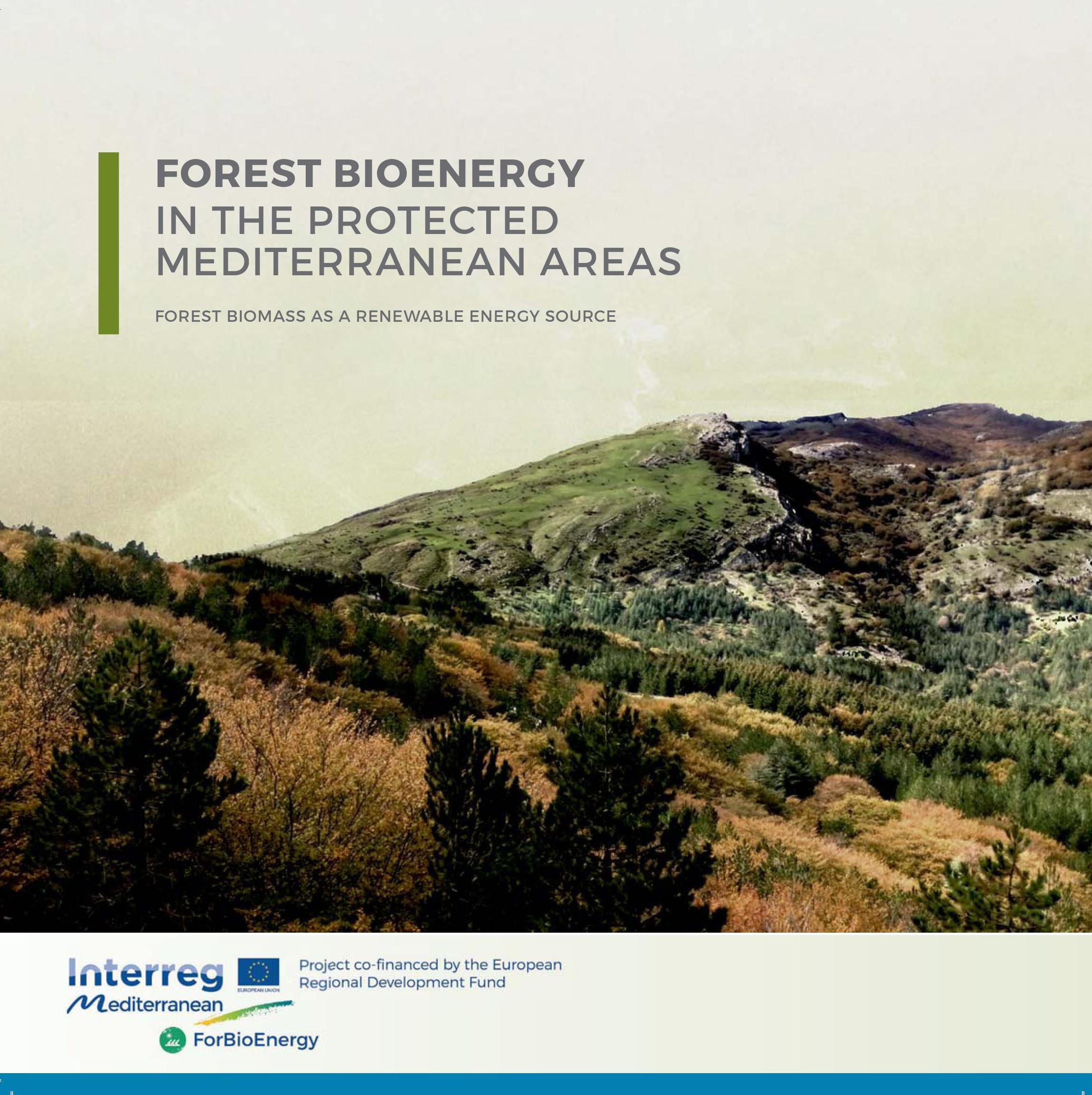ForBioEnergy – Forest Bioenergy In The Protected Mediterranean Areas (2016-2019)