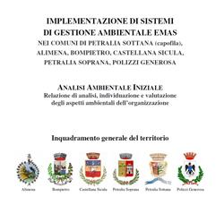 IMPLEMENTAZIONE DI UN SISTEMA DI GESTIONE AMBIENTALE PER I COMUNI DELLE ALTE MADONIE (2011)