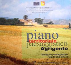 PIANO TERRITORIALE PAESISTICO Dell'AMBITO 10 – Provincia Di Agrigento (2008 – 2009)