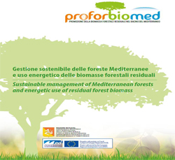 PROFORBIOMED – PROmotion Of Residual FORestry BIOmass In The MEDiterranean Basin (2011 – 2014)